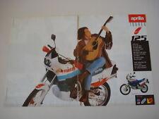 advertising Pubblicità 1988 MOTO APRILIA TUAREG 125