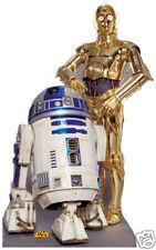 SC-480 Star-Wars R2D2 C-3PO Figur Aufsteller Kinoaufsteller Pappaufsteller