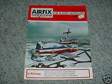 Airfix Magazine Feb 1974 Hawker Fury colors / markings