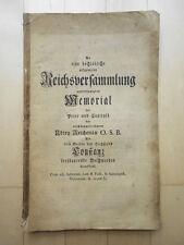 Abtei Reichenau contra das Hochstift Konstanz - 1766