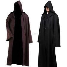 Cosplay Costume Star Wars Women Men Jedi Warrior Hooded Cloak Robe Halloween