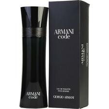 Armani Code Men Eau de toilette 50/75/125/200 ml Spray EDT Fragancia Hombre