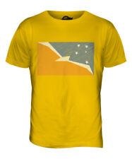 TIERRA DEL FUEGO PROVINCE SCRIBBLE FLAG MENS T-SHIRT TEE TOP GIFTFOOTBALL SHIRT