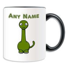 Personalised Gift Brontosaurus Mug Money Box Cup Silly Long Neck Dino Dinosaur