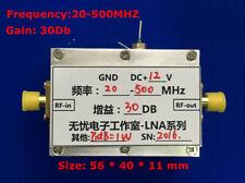 20MHz-500MHZ 1W UHF FM VHF UHF FM transmitter broadband RF power amplifier