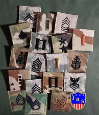 Us grado militar insignia acu ocp BDU CCU DCU DBDU USN USAF Army Navy Air Force 1