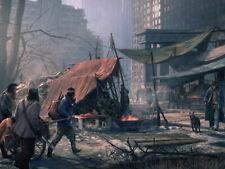 Post Apocalyptic City Ruins Raiders Bandits HUGE GIANT PRINT POSTER