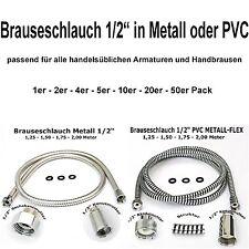 """Brauseschlauch Duschschlauch 1/2"""" PVC oder METALL"""