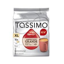 TASSIMO KENCO Americano Grande T-DISCS 16 Drinks COFFEE PODS FREE P+P