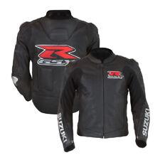 Suzuki Motorrad Lederjacke Sport Motorrad Lederjacke Renn Rindleder