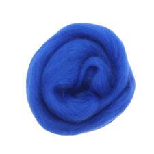 Fibra a mano di materiali a base di lana 10g per la fabbricazione di bambole