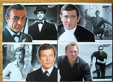 James Bond 007 Heroes & Villains Basic Trading Card Set