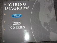2009 Ford Econoline E-Series E Series Wiring Electrical Diagram Manual EWD Ford