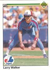 Lot of 96 Larry Walker Expos Rockies Cardinals baseball cards inserts, RCs +