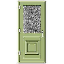 Chartwell Green uPVC - Single Door