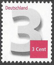 Ergänzungsmarke 3 Cent – EZM, Streifen, RE – postfrisch Mi.Nr. 2964 Typ II