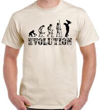 Padre e hijo evolución Para Hombre Divertido Camiseta Padres Día Padre Papá padrastro Papa