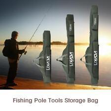 Lixada Fishing Bag Portable Folding Rod Reel Fishing PoleTackle Box Storage G3J5