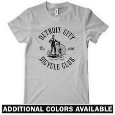 DETROIT BICYCLE CLUB Women's T-shirt - Motor City Cycling Bike Cycling - S-2XL