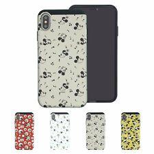 DISNEY Vintage Pattern Bumper Cover Galaxy S10 iPhone 11 Pro XS Max XR X 8 Case
