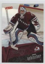 2003-04 Upper Deck Victory #48 David Aebischer Colorado Avalanche Hockey Card