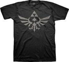 Nintendo Legend of Zelda Twilight Princess Triforce Black T-shirt