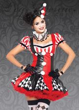 Leg Avenue Harlequin Clown Costume