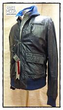 Outlet hombre chaqueta kurtka ropa de cuero 1201190001
