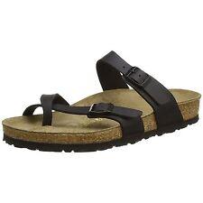 Birkenstock Mayari Black Womens Birko-Flor Comfort Sandals