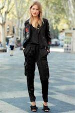 BNWT NEXT Ladies Black Satin Sleeveless Jumpsuit RRP £48