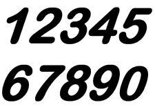 Numeri Adesivi auto moto racing stickers numero adesivo vinile 12 cm di altezza