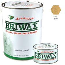 Briwax Original Old Pine Wood Wax Polish/Restorer For Floors, Doors & Furniture