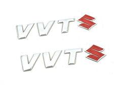 2 x Genuine New SUZUKI VVT BADGE For Ignis 4grip 2000-2008 GLX VVTS 1.5 Hatch