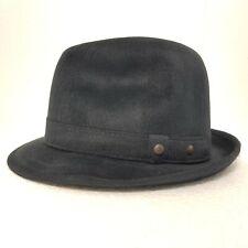 INDIANA Fedora Brown 100 Jones/% feltro di lana da uomo Denton Cappello Adventurer POETA