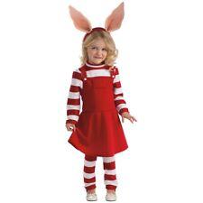 Olivia the Pig Costume Toddler Kids Halloween Fancy Dress