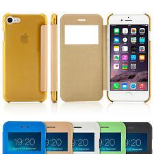 Schutz Hülle für iPhone 8 iPhone 7 6S 6 Plus Flip Case Handy Tasche Cover Etui