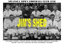 Swansea Ciudad f.c.team impresión 1948 (scrine / Lucas / Paul / Feeney)