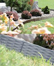 Rasenkante Gartenpalisade Beeteinfassung Beetumrandung  3,9m 7,8m Gartenzaun