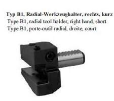 VDI Typ B1 Radial Werkzeughalter, rechts, kurz / radial tool holder right hand,s