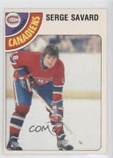1978-79 O-Pee-Chee #190 Serge Savard Montreal Canadiens Hockey Card