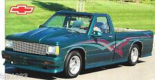 1984 Chevy S10 / S-10 CUSTOM PickUp Truck SPEC SHEET / Brochure