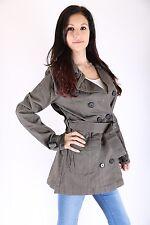 Only  Damen Trenchcoat Jacke Paddington Trench Coat Größe M Gun Metal only sexy
