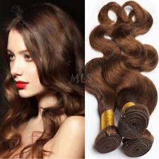 Virgin Human Hair Bundles Deals Brazilian Hair Extensions 4 Bundles Sew In Weave