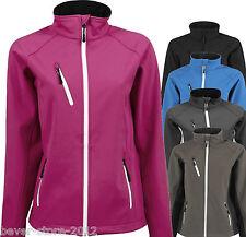 TEEJAYS Coque souple veste femmes grandes tailles S M L XL XXL 3XL 4XL