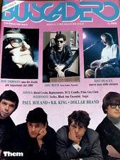 Buscadero 89 1989 Roy Orbison Lou Reed Jeff Healey Them Paul Roland B.B. KIng