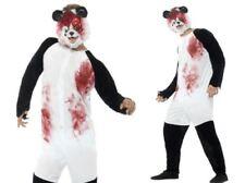 Zombie PANDA Disfraz GORE HALLOWEEN Animal Adulto Disfraz