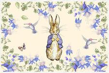 Peter Rabbit Viola Fiore 60x40cm/rivestimento/pannello Craft/Alice CAMEO CUORE