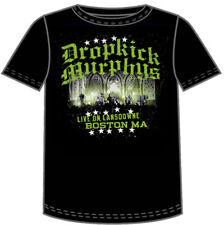 Dropkick Murphys Live on Lansdown Black Adult T-shirt