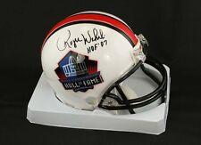 Roger Wehrli SIGNED Football Hall of Fame Mini Helmet ITP PSA/DNA AUTOGRAPHED
