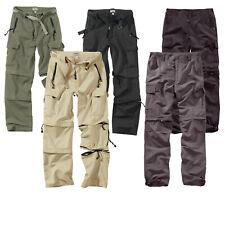 Surplus Raw Vintage™ Hombres trekking/QuickDry Pantalones Cremallera Off
